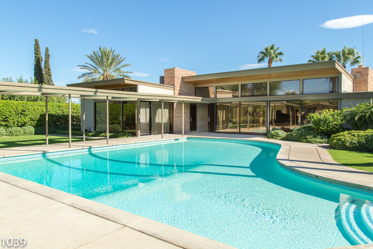 Sinatra House Is Your Luxury Palm Springs Vacation Rental