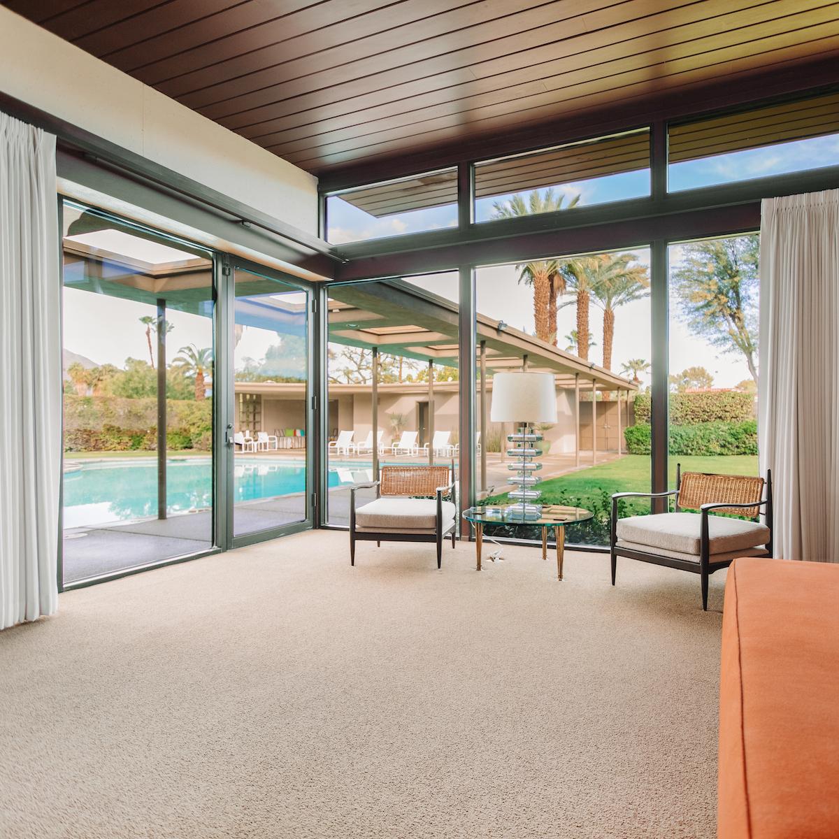 Luxury Vacation Homes: Frank Sinatra's Original Palm Springs Estate